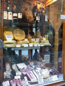 Gourmet foods, Norcia, Umbria 2009