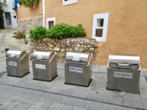 Small villages in Ibiza Spain with an environmental awareness.
