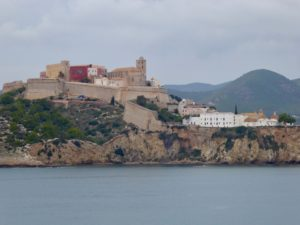 Old Town on the harbor, Ibiza